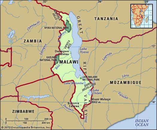 Where The Is Malawi Grants Africa Blog PreTrip - Where is malawi